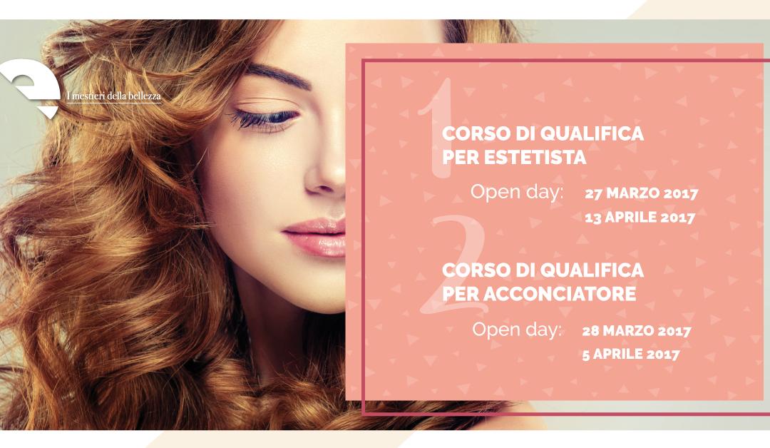 OPEN DAY | Qualifiche Estetica e Acconciatura de I Mestieri della Bellezza