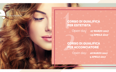 OPEN DAY | Qualifiche Estetica e Acconciatura de I Mestieri della Bellezza