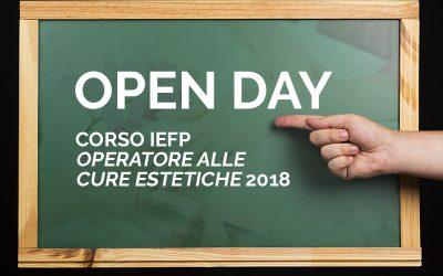 OPEN DAY | Corso IeFP – Operatore alle cure estetiche 2018