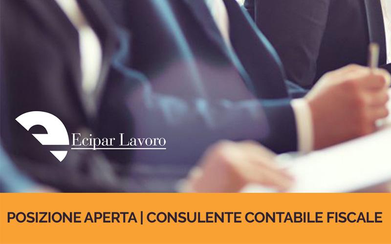 Posizione Aperta | Consulente Contabile Fiscale