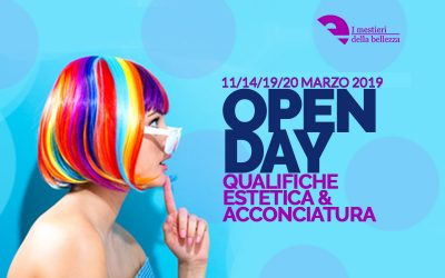 OPEN DAY Corsi Estetica & Acconciatura | I Mestieri della Bellezza