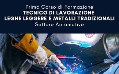 Corso in esclusiva | Tecnico di lavorazione leghe leggere e metalli tradizionali per l'automotive