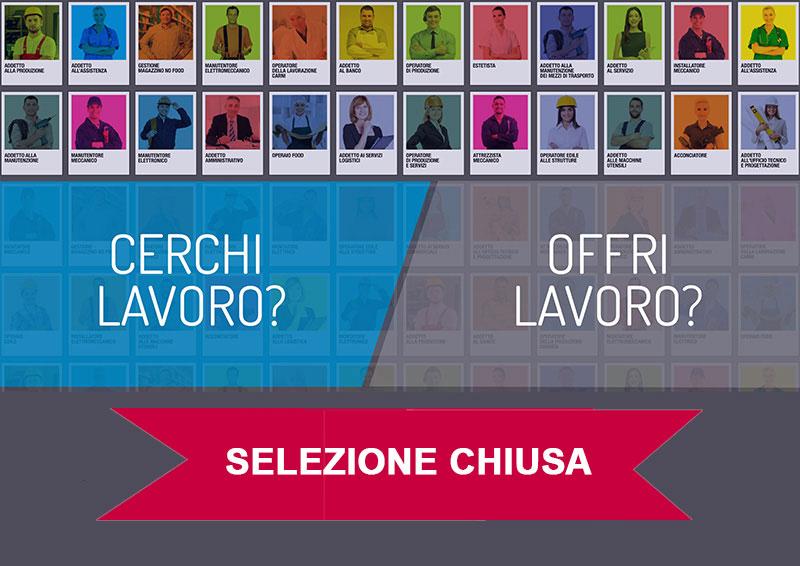 SELEZIONE CHIUSA | Impiegato/a Amministrativo Contabile