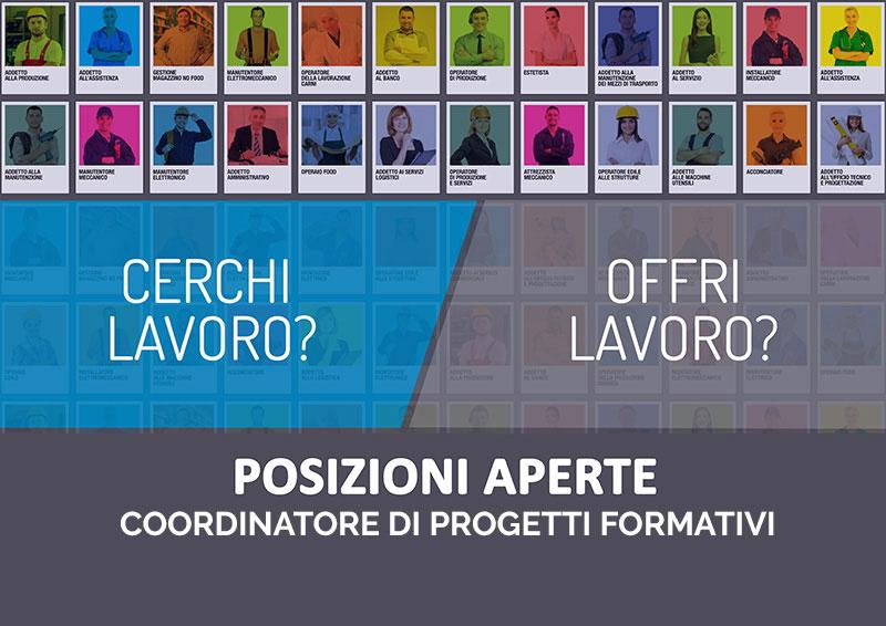ECIPAR LAVORO OFFERTE | Coordinatore/Tutor formativo