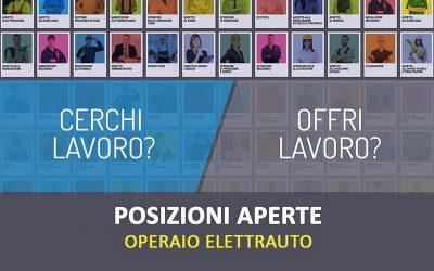 POSIZIONI APERTE | Operaio Elettrauto a Bologna