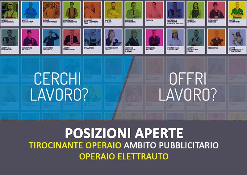 POSIZIONI APERTE | Operaio Elettrauto e Tirocinante Operaio – Bologna